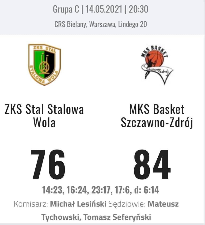 Warszawa: MKS zaczął od wygranej