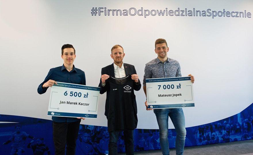 Wałbrzych/REGION: WSSE wspiera sportowców