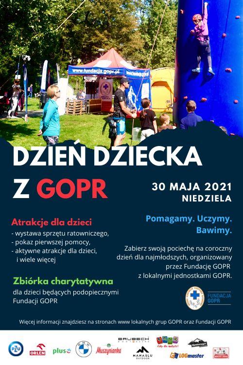 Wałbrzych/REGION: Dzień Dziecka z GOPR