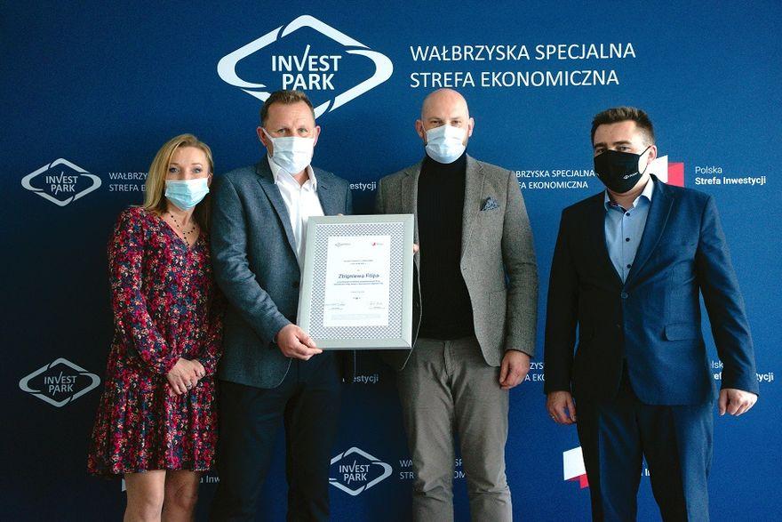 Wałbrzych/Czarny Bór: Kolejna inwestycja wsparta przez WSSE