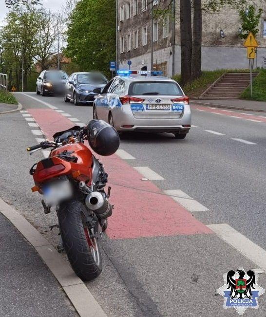 Wałbrzych: Motocyklista uderzył w staruszków