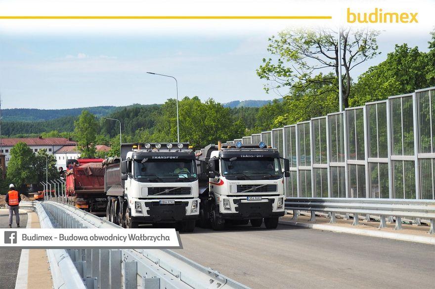 Wałbrzych: Próba mostu