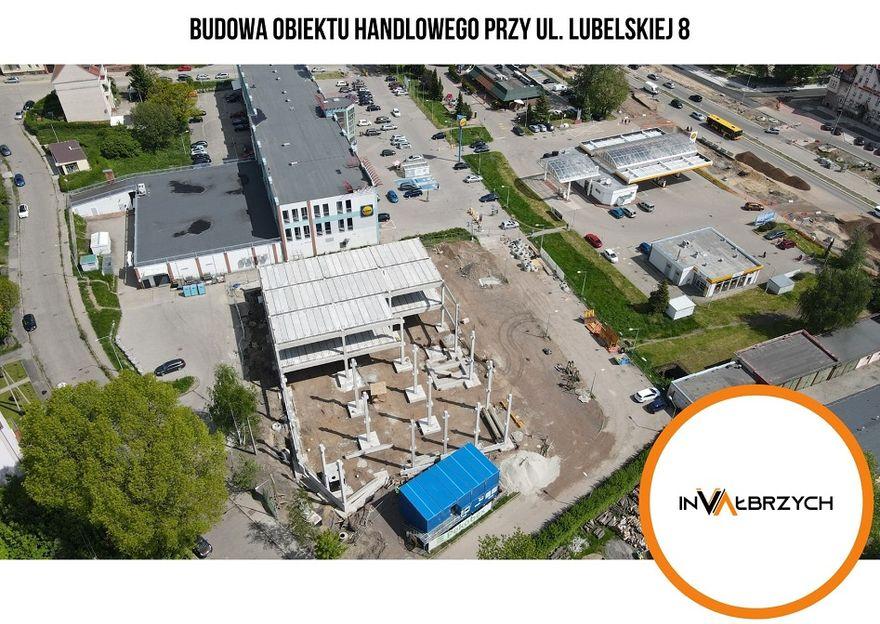 Wałbrzych: Powstaje supermarket