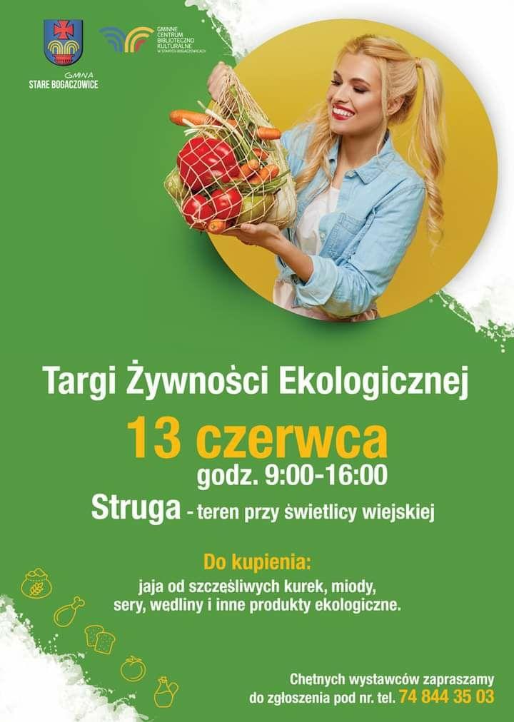 REGION, Struga: Ekologiczna żywność
