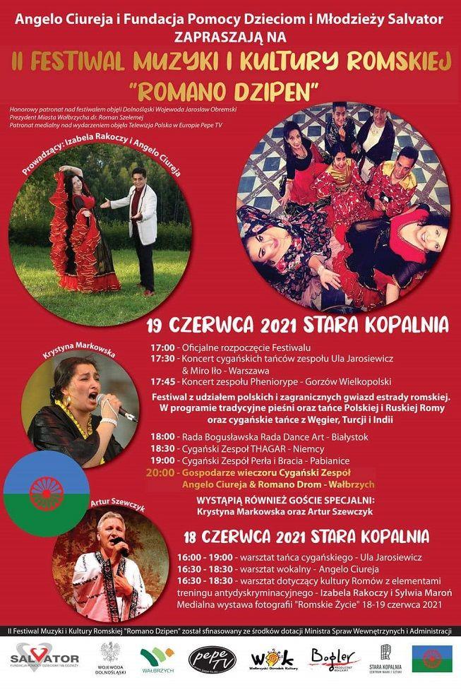 Wałbrzych: Święto muzyki romskiej