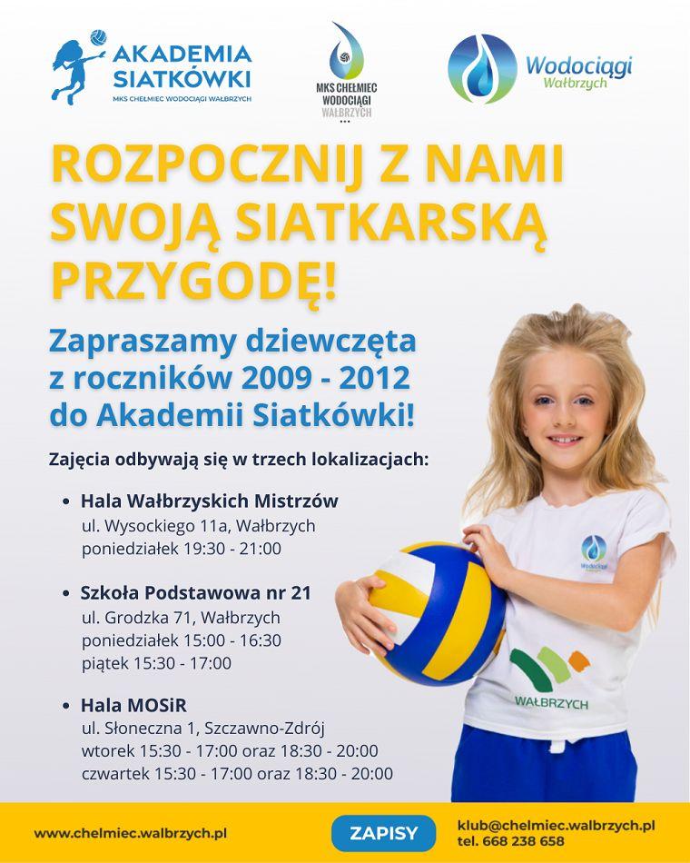 Wałbrzych/Szczawno-Zdrój: Dołącz do Akademii Siatkówki