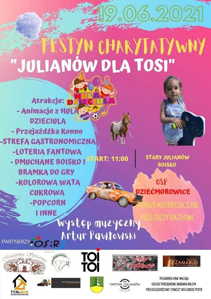 REGION, Stary Julianów: Festyn charytatywny
