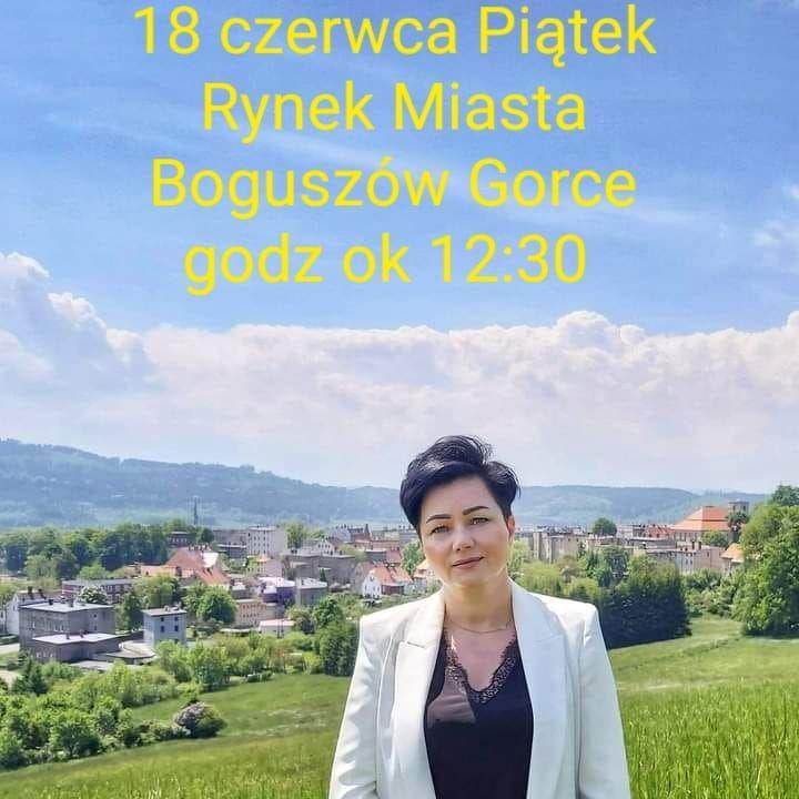 REGION, Boguszów-Gorce: Burmistrz spotka się z mieszkańcami