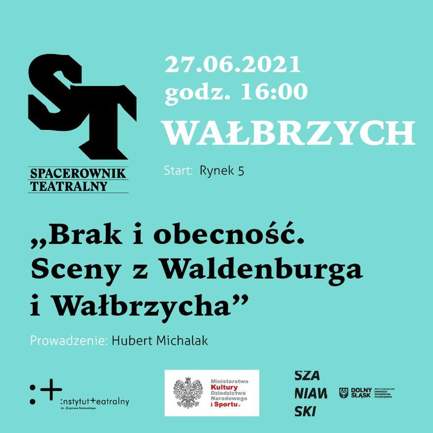 Wałbrzych: Teatralny spacer