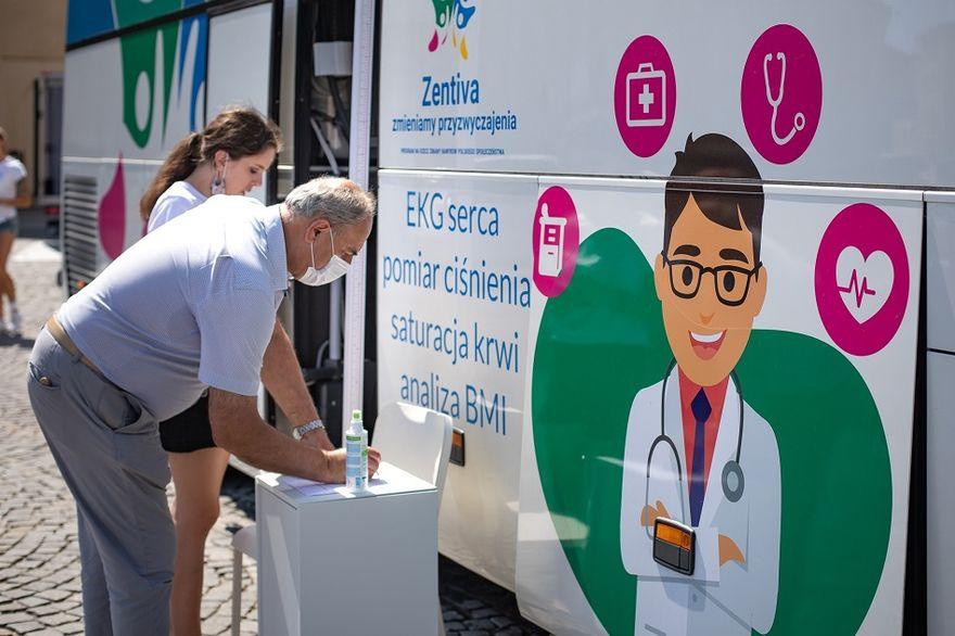 Wałbrzych: Przebadali ponad 120 pacjentów