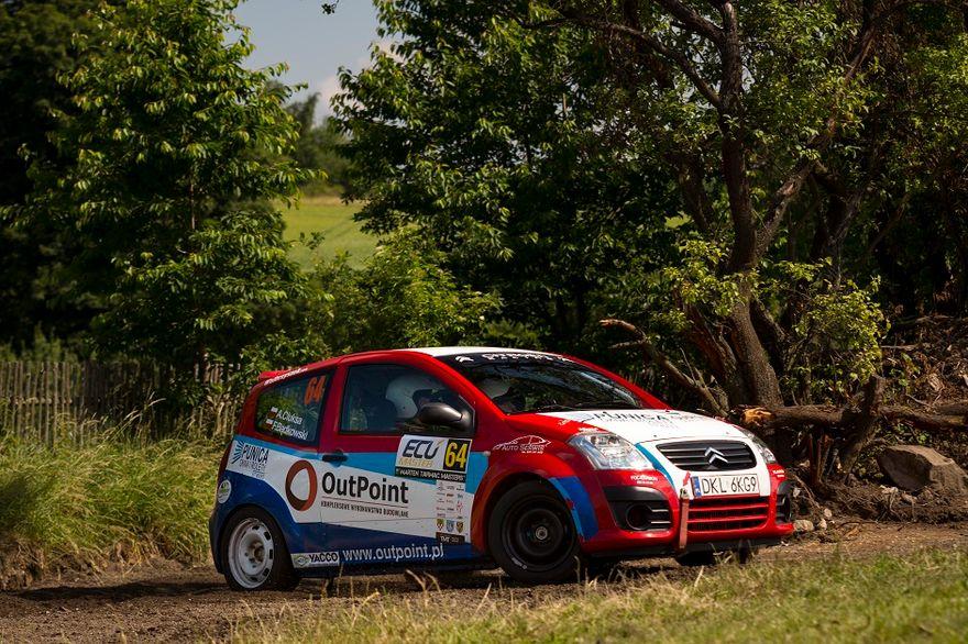 """REGION: Kolejne """"pudło"""" dla OutPoint Rally Team"""
