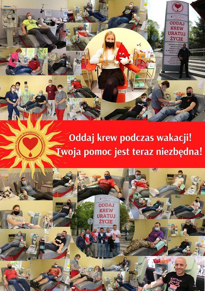 Wałbrzych/REGION: Krew potrzebna jest codziennie