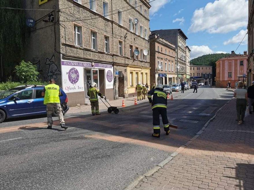 REGION, Boguszów-Gorce: Wypadek na Głównej