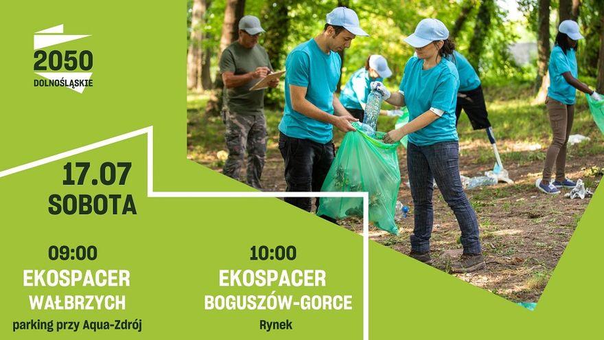 Wałbrzych/Boguszów-Gorce: Ekospacer na Chełmiec