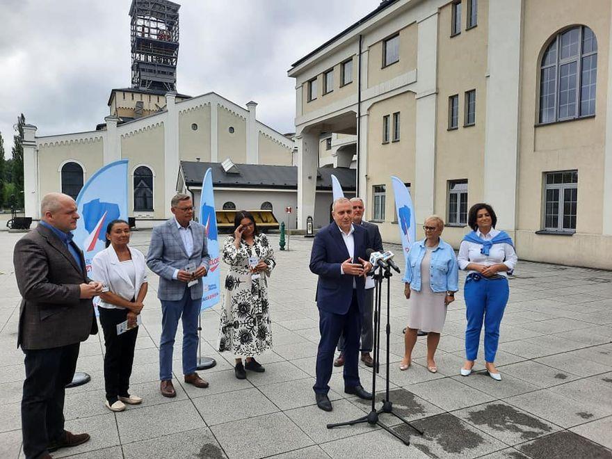 Wałbrzych: Parlamentarzyści z wizytą