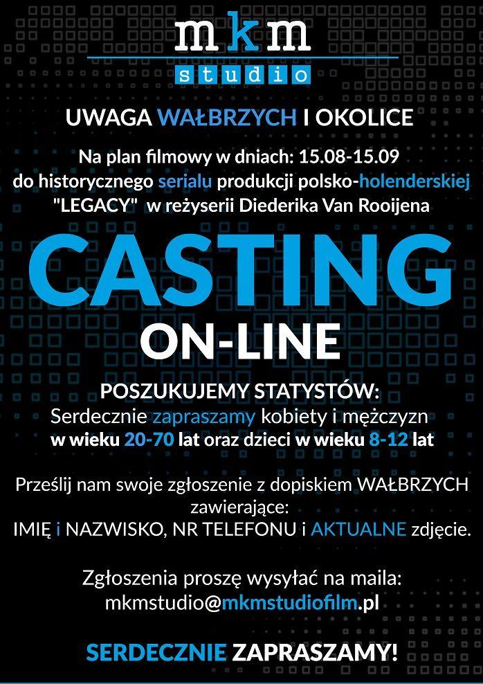 Wałbrzych/REGION: Casting do filmu
