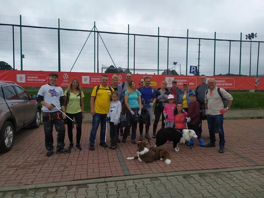 Wałbrzych/Boguszów-Gorce: Udany ekospacer