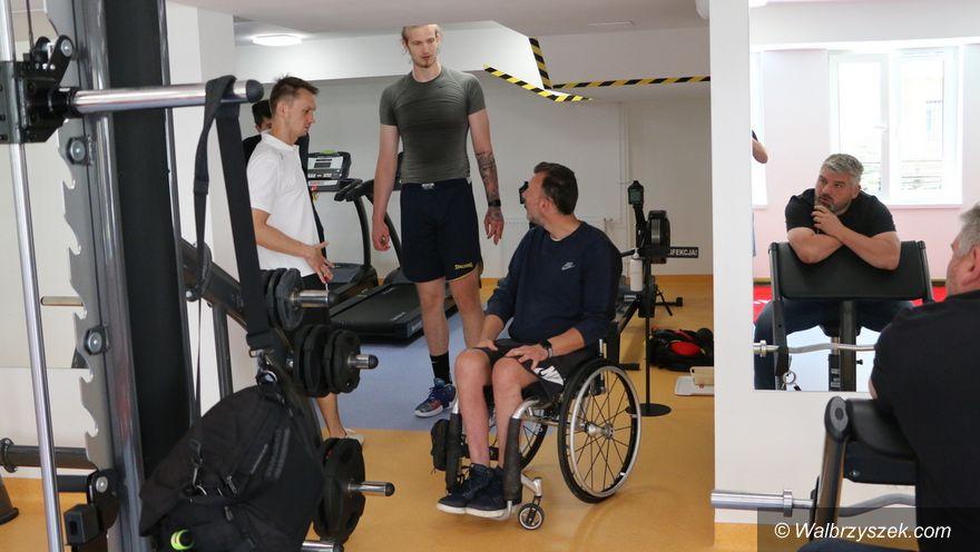Wałbrzych: Spotkanie z gwiazdą koszykówki