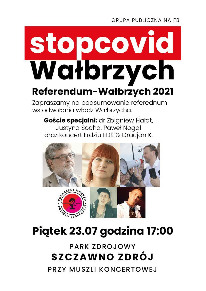 Wałbrzych/Szczawno-Zdrój: Nie podsumują akcji referendalnej?