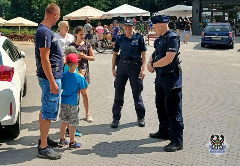 REGION, Zagórze Śląskie: Więcej patroli wokół jeziora