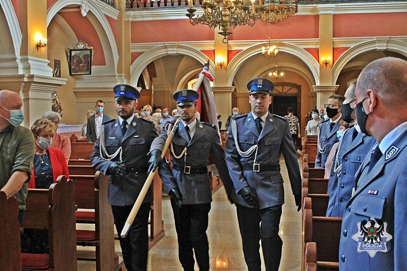 REGION, Stare Bogaczowice: Msza w intencji policjantów