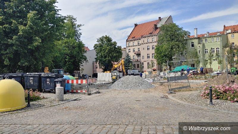 Wałbrzych: Trwa rewitalizacja Śródmieścia
