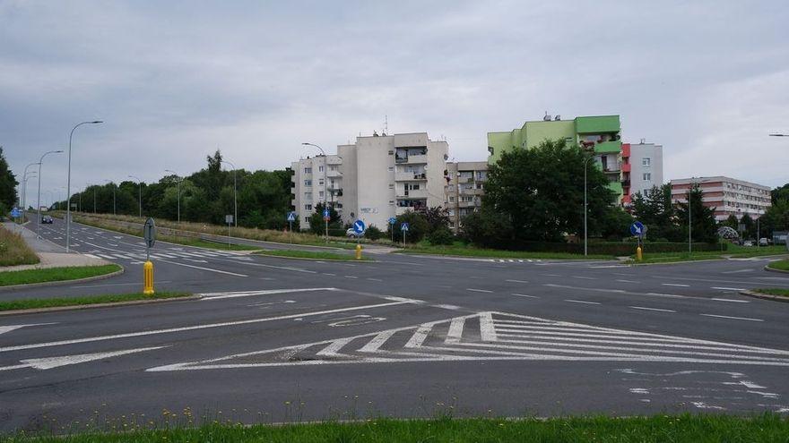 Wałbrzych: Rondo na skrzyżowaniu