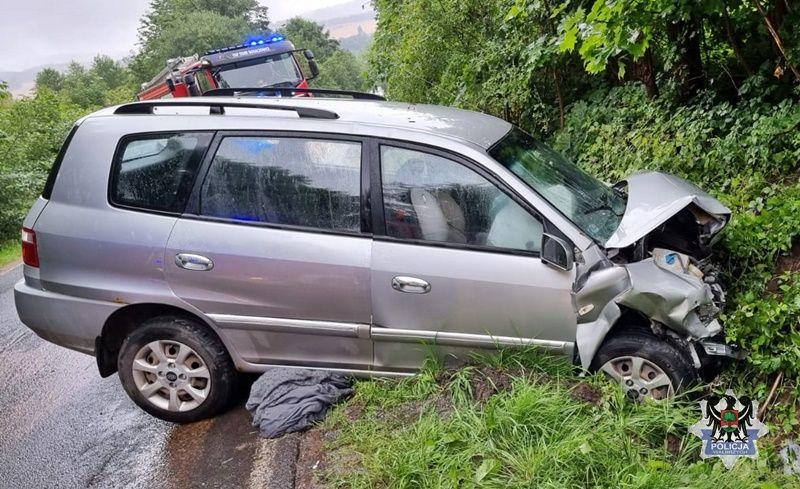 powiat wałbrzyski: Dwie osoby zginęły w wypadku