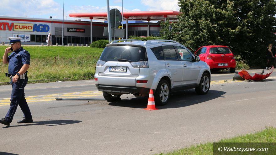 Wałbrzych: Wypadek w okolicach Tesco