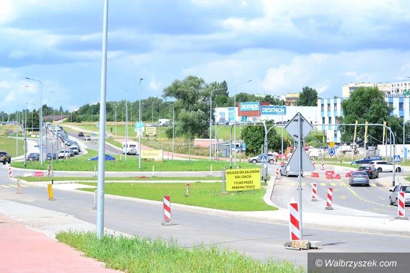 Wałbrzych/Szczawno-Zdrój: Utrudnienia w okolicach ronda