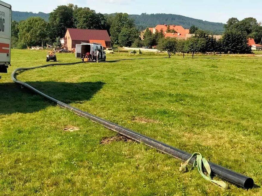 REGION, Gmina Mieroszów: Wymiana rur i nie tylko