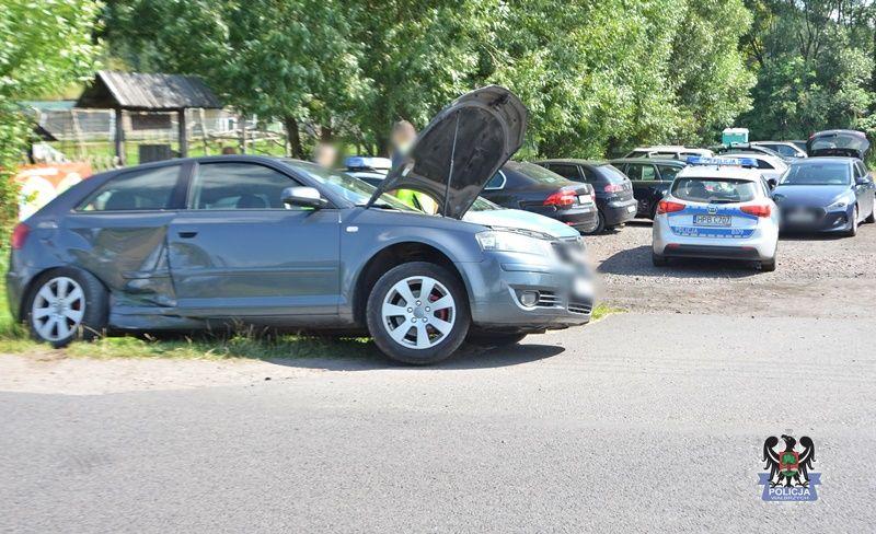 Wałbrzych/powiat wałbrzyski: Doprowadził do wypadku