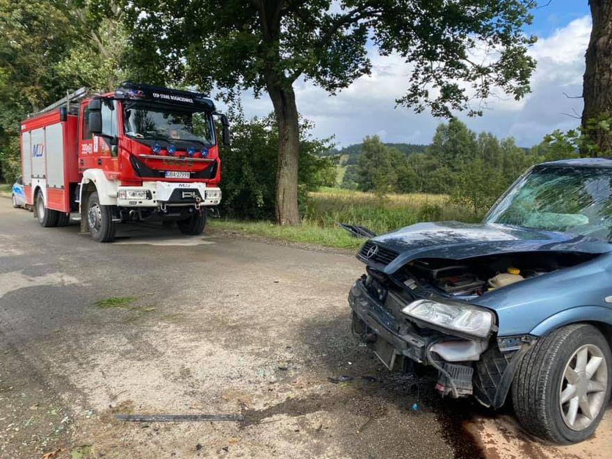REGION: Sprawca uciekł z miejsca wypadku