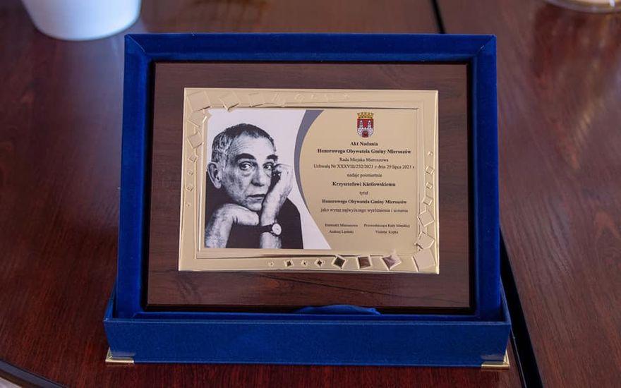 REGION, Mieroszów: Honorowy Kieślowski