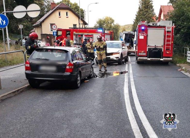 Wałbrzych/REGION: Przesiadka i wypadek