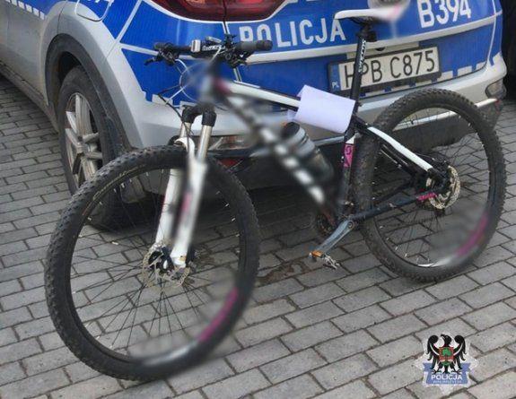 Wałbrzych/powiat wałbrzyski: Rowerzysta z narkotykami