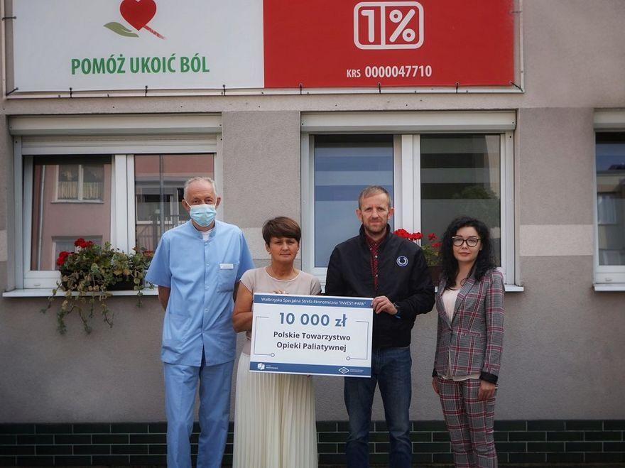 Wałbrzych: Pieniądze dla Hospicjum