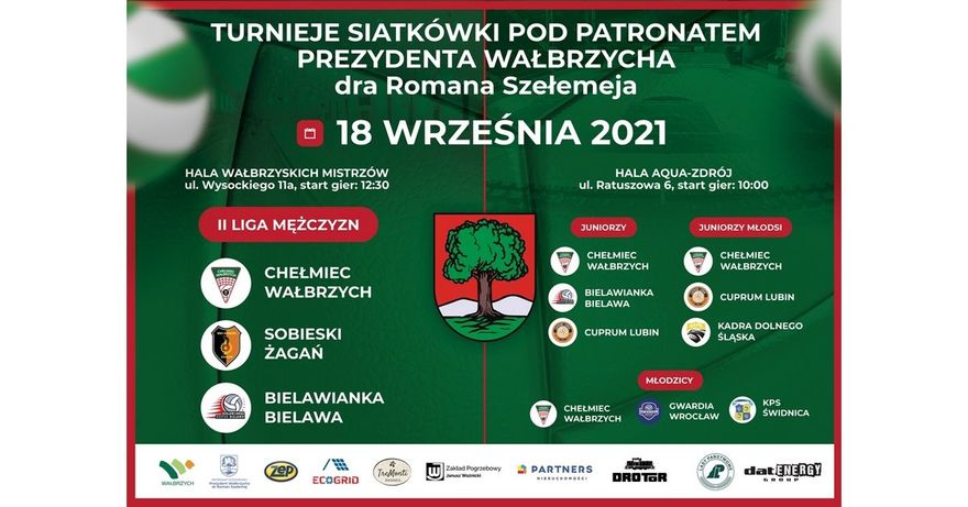 Wałbrzych: Siatkarskie turnieje