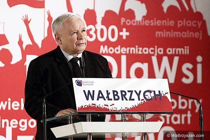 Wałbrzych/Kraj: PiS zyskuje
