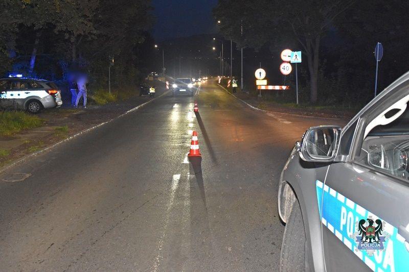 Wałbrzych: Motocyklista potrącił 13–latkę