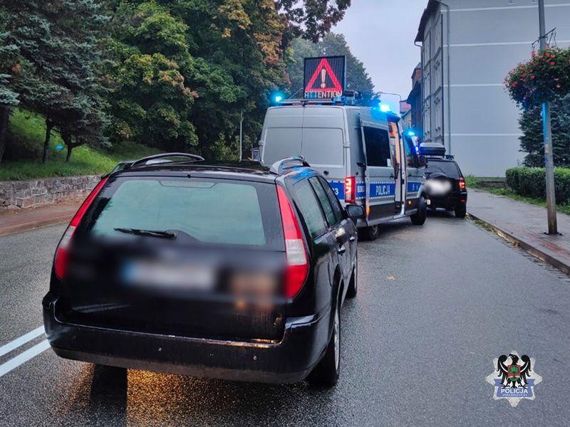 Wałbrzych: Potrącona 69–latka w szpitalu