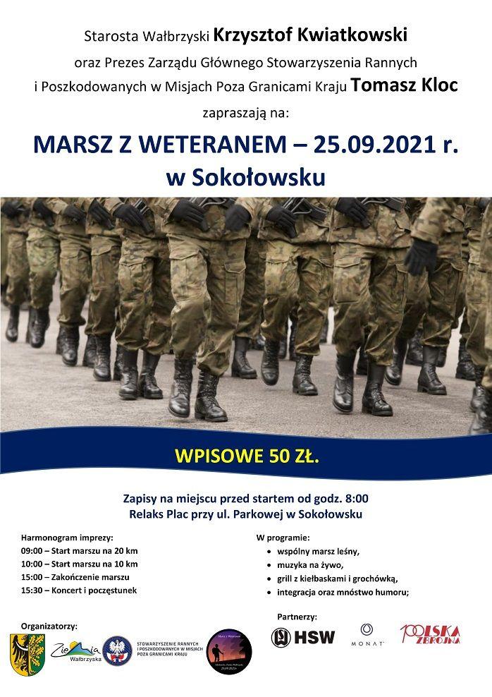 REGION, Sokołowsko: Marsz weteranów