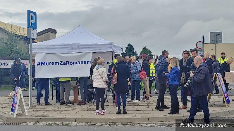 Wałbrzych: Solidarni z prezydentem