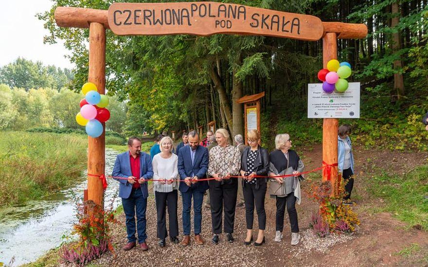 REGION, Golińsk: Polana pod skałą