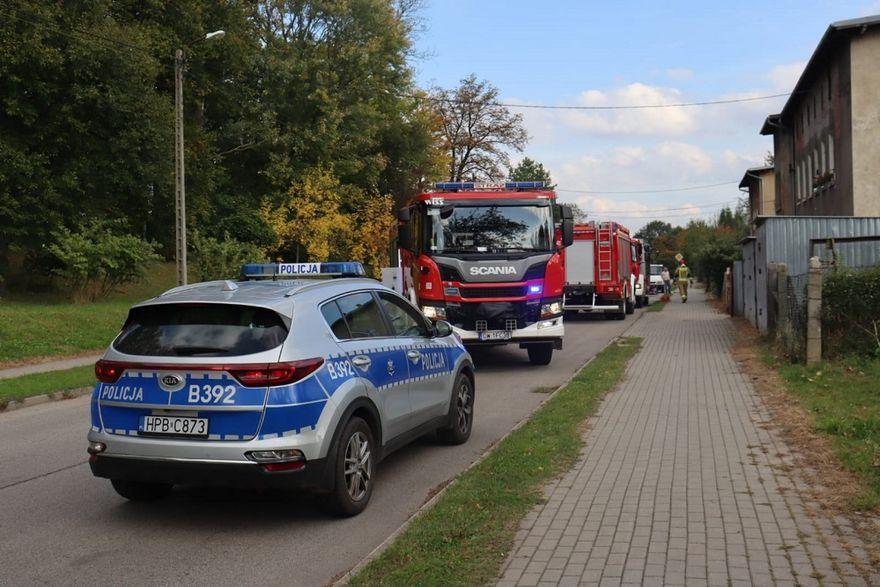 REGION, Boguszów-Gorce: Tragedia na posesji