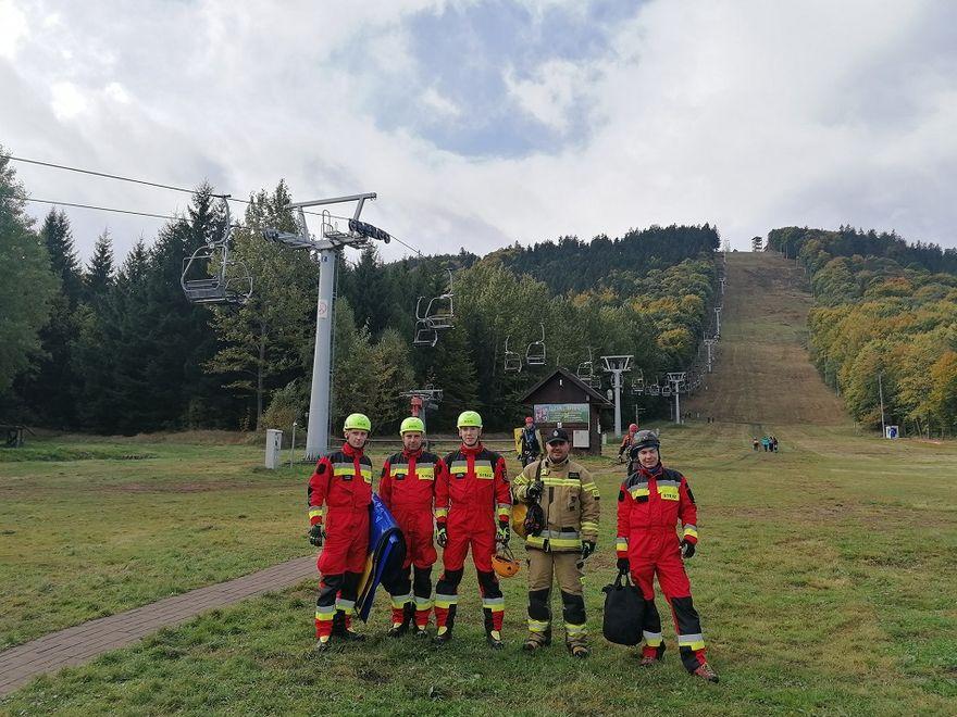 REGION, Boguszów-Gorce: Próbna ewakuacja