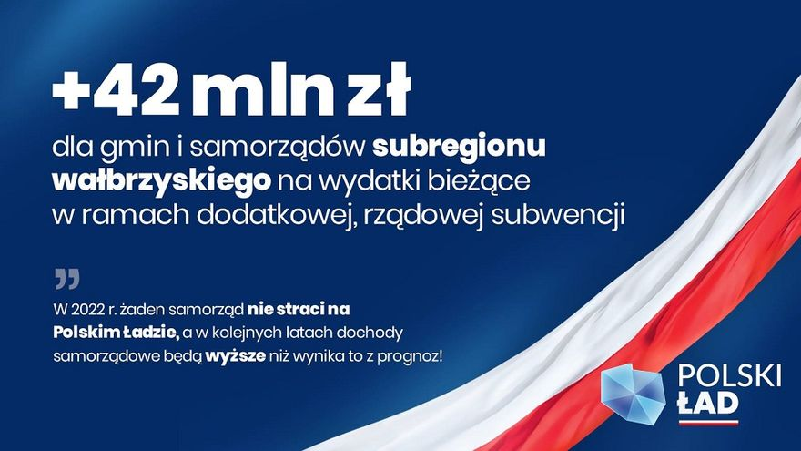 Wałbrzych/powiat wałbrzyski: Polski Ład korzystny dla samorządów?