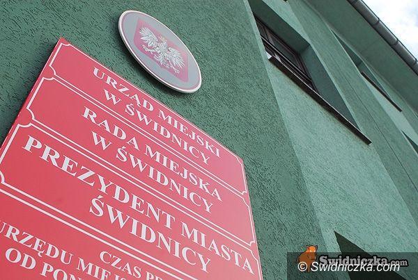 Świdnica: Urząd Stanu Cywilnego tymczasowo w Urzędzie Miejskim w Świdnicy