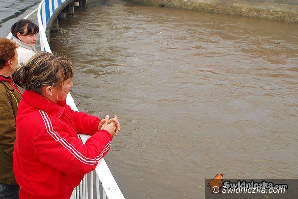 Dolny Śląsk: Rzeki wzbierają – ostrzeżenie Instytutu Meteorologii i Gospodarki Wodnej