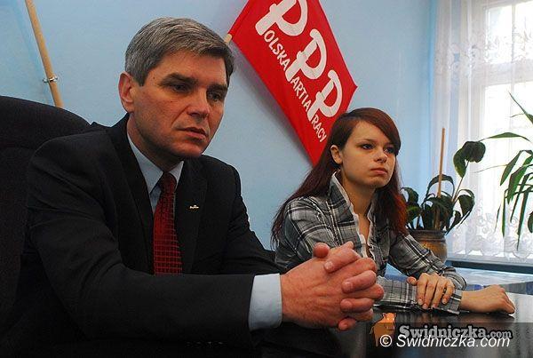 Świdnica: Kandydat na prezydenta RP o przyszłości młodych ludzi